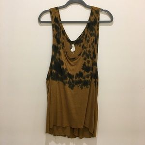 Free People tank top with open sides sz M